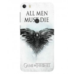 Funda All Men Must Die Para Alcatel Idol 5
