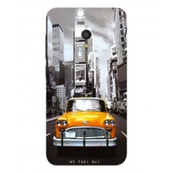Carcasa New York Taxi Para Alcatel U5 HD