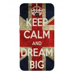 Carcasa Keep Calm And Dream Big Para Alcatel U5 HD