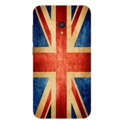 Funda Vintage UK Para Alcatel U5 HD