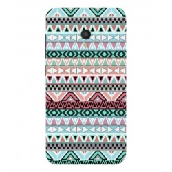 Funda Bordado Mexicano Para Alcatel U5 HD