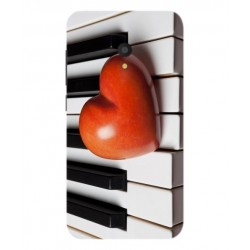 Funda I Love Piano Para Alcatel U5 HD