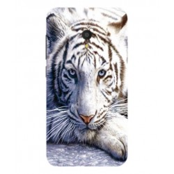 Funda Protectora 'White Tiger' Para Alcatel U5 HD