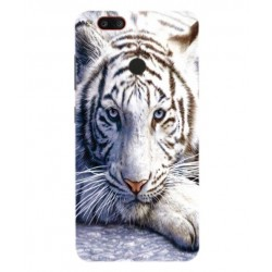 Coque Protection Tigre Blanc Pour Archos Diamond Gamma