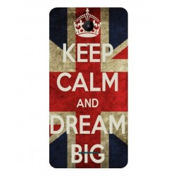Coque Keep Calm And Dream Big Pour Wiko Tommy 2