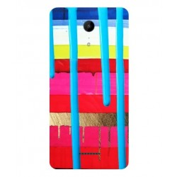 Wiko Tommy 2 Plus Brushstrokes Cover
