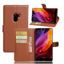 Xiaomi Mi Mix Brown Wallet Case