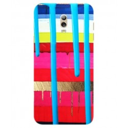 Samsung Galaxy C7 (2017) Brushstrokes Cover