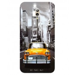 Samsung Galaxy C7 (2017) New York Taxi Cover