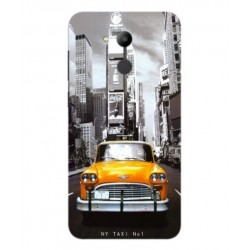 Coque New York Taxi Pour Huawei Honor V9 Play