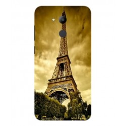 Coque Protection Tour Eiffel Pour Huawei Honor V9 Play