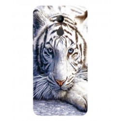 Coque Protection Tigre Blanc Pour Huawei Honor V9 Play