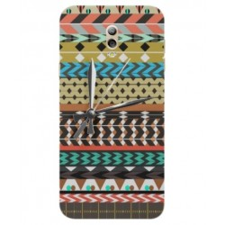 Samsung Galaxy C7 (2017) Mexican Embroidery With Clock Cover