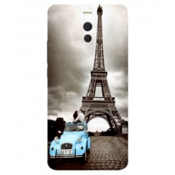 Meizu M6 Note Vintage Eiffel Tower Case