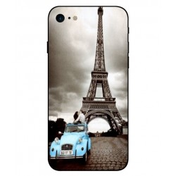 Torre Eiffel Vintage Custodia Per iPhone 8