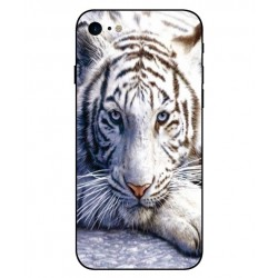 iPhone 8 White Tiger Cover