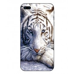 iPhone 8 Plus White Tiger Cover