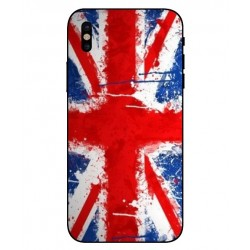 Carcasa UK Brush Para iPhone X