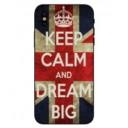 Coque Keep Calm And Dream Big Pour iPhone X