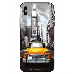 Coque New York Taxi Pour iPhone X