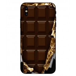 Coque I Love Chocolate Pour iPhone X
