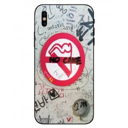 Funda Protectora 'No Cake' Para iPhone X