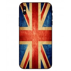Funda Vintage UK Para iPhone X