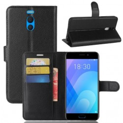 Meizu M6 Note Black Wallet Case