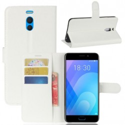 Meizu M6 Note White Wallet Case