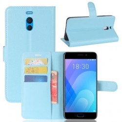 Meizu M6 Note Blue Wallet Case