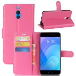 Meizu M6 Note Pink Wallet Case