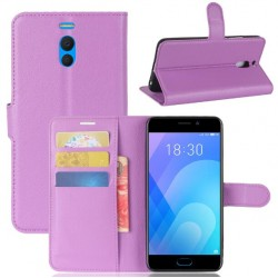 Meizu M6 Note Purple Wallet Case