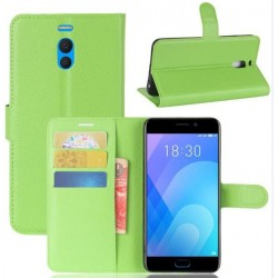 Meizu M6 Note Green Wallet Case