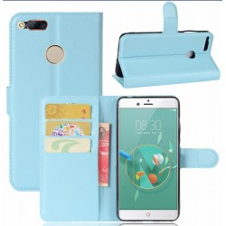 ZTE Nubia Z11 Mini Blue Wallet Case
