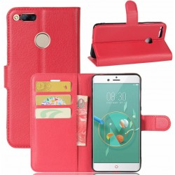 ZTE Nubia Z11 Mini Red Wallet Case