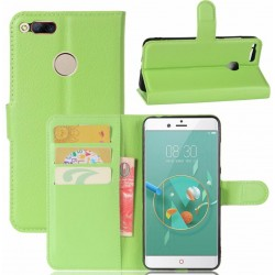 ZTE Nubia Z11 Mini Green Wallet Case
