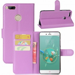 ZTE Nubia Z11 Mini Purple Wallet Case
