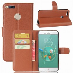 ZTE Nubia Z11 Mini Brown Wallet Case