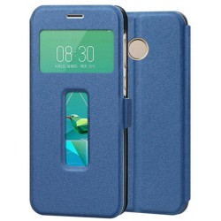 Blue S-view Flip Case For ZTE Nubia Z11 Mini