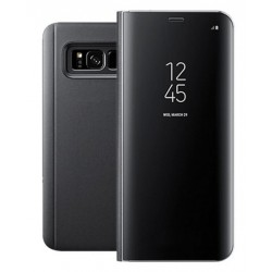 Etui Protection Ice View Cover Noir Pour Samsung Galaxy Note 8