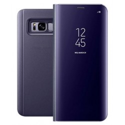 Etui Protection Ice View Cover Violet Pour Samsung Galaxy Note 8