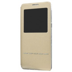 Etui Protection S-View Cover Or Pour Samsung Galaxy Note 8