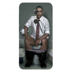 Funda Obama En El Baño Para Alcatel A7