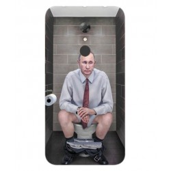 Alcatel A7 Vladimir Putin On The Toilet Cover