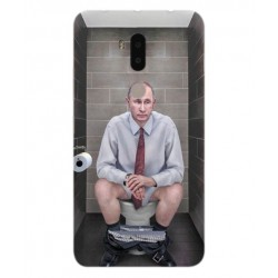 Alcatel A7 XL Vladimir Putin On The Toilet Cover
