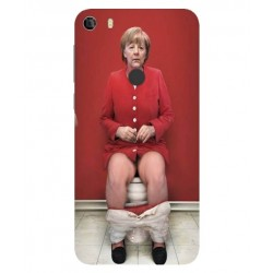 Protection Angela Merkel Aux Toilettes Pour Alcatel Idol 5
