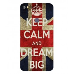 Keep Calm And Dream Big Hülle Für Alcatel Idol 5s