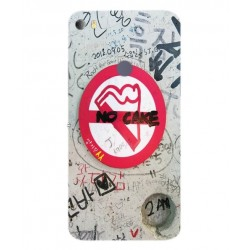 Funda Protectora 'No Cake' Para Alcatel Idol 5s