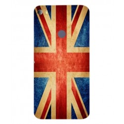 Funda Vintage UK Para Alcatel Idol 5s
