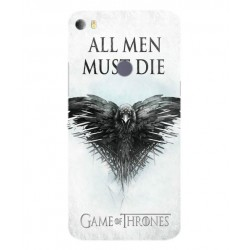 Funda All Men Must Die Para Alcatel Idol 5s